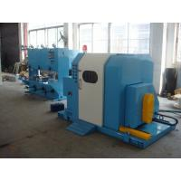Quality Blue Color Single Twist Buncher Machine , High Speed Wire And Cable Machinery wholesale