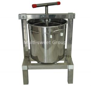 Quality Manual Stainless Steel Diameter 30cm Beeswax Press Machine wholesale
