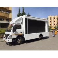 Full Color P8 SMD 3535 1/4 Scan Led Mobile Billboard on Vehicles INDIA