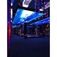 Quality Full Color Indoor Led Window Screen , Video Advertising Screen Al Die Casting Cabinet wholesale