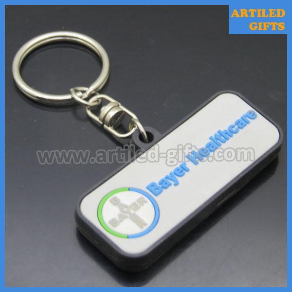 Bayer Company healthcare PVC keychains 3