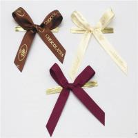 Quality Colored Small Ribbon Bows 100% Polyester Material Handmade Artworks wholesale