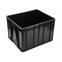 Quality Black Conductive Glossy Lamination ESD Packing Box For Electronics wholesale