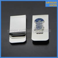 Quality Silver plating high quality mens money clip with masonic emblem wholesale