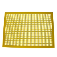 Buy cheap 8 Frame Plastic Queen Excluder Yellow Rearing Queen Bee Excluder from wholesalers