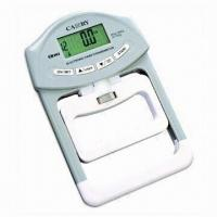 Quality Hand Dynamometer, Made of Plastic, Steel, or Tempered Glass wholesale