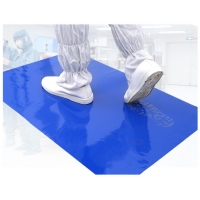 Quality 30 and 60 layers Short Time Delivery  Disposable Pe Cleanroom Sticky Mat wholesale