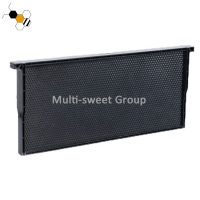 Quality Black Yellow Food Grade Plastic Bee Frame With Foundation wholesale