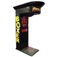 Quality 1 - 6 Players Boxing Punch Game Machine Sports Arcade Machine 180W wholesale