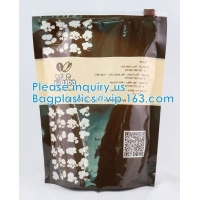 Quality Stand Up Pouch Herbal Tea Doypack Capsule Packaging Bag With Zipper Herbal Tea Bag Packaging wholesale