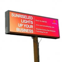 Quality Fixed led Advertising Billboard Video Screen Outdoor Waterproof P8 5000CD/sQM wholesale