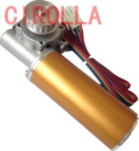 Quality Round Sliding Glass Electric Door Motor / Door Lock Actuator Motor CE CCC SGS wholesale