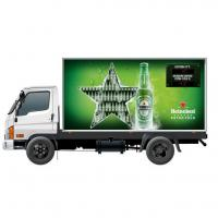 Quality Advertising 45W 6500cd/m2 P5 Truck Led Billboard wholesale