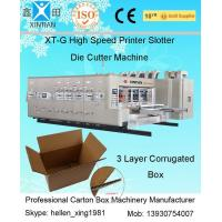 Quality Digital Carton Box Making Machine With Double Oil Pipe Balance System , 2200mm Width wholesale
