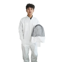 Quality Hooded Coverall Suits Beekeeping Protective Clothing wholesale