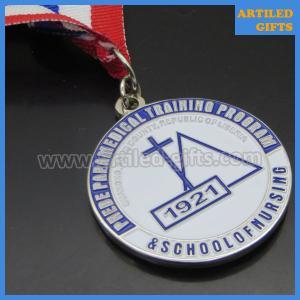 Quality Republic of Liberia school of nursing medical training program graduation medal wholesale