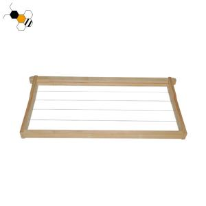 Quality Bee Farm Assembled Wired Langstroth Foundationless Bee Frames wholesale