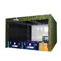 Quality Projector Screen Shooting Game Machine Real Sence Shooting Hunting Hero 4 Players wholesale