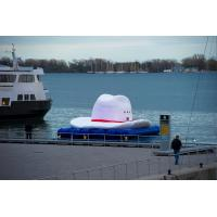 Quality Advertising decoration giant inflatable cowboy hat wholesale