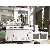 Quality High Capacity Plastic Profile Production Line , Pvc Pipe Manufacturing Machine wholesale