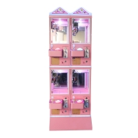 Quality Metal Cabinet 4 Player Toy Crane Machine With Stable Game Board wholesale