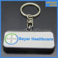 Buy cheap Bayer Company healthcare business promotion PVC keychains of cheap price from wholesalers
