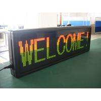 Quality F3.75 Electronic Red Green Blue Yellow White Scrolling LED Sign High Brightness ,Modular LED Display wholesale