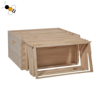 Quality Knot Free Pine Wood Beehive Frames Uncoated For Put Beeswax Sheet wholesale