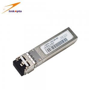 Buy cheap SFP 10G ZR CISCO Optical Transceiver , 10GB Sfp+ 80km Transceivers Metal Enclosure from wholesalers