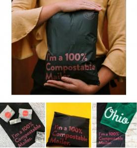Quality Colored Poly Mailers Custom Courier Bag Adhesive Tape Express Plastic Mailing Bags Black Wholesale Shipping Postal Bags wholesale