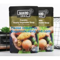 Quality Soup Pouch Bags, ALTERNATIVE DAIRY CO.LISA'SNAKED CUISINEBEAN SUPREMEVEGIE DELIGHTS FOOD SERVICE wholesale