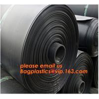 Quality 0.8mm pond liner hdpe fish pond geomembrane,Composite Geomembrane for fishing pond,Polyester Needle Punched Nonwoven Geo wholesale