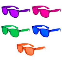 Quality Light Therapy Glasses Colors Party Favor Supplies Unisex Sunglasses Relax Glasses wholesale