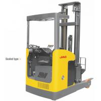 Quality Seated Type 1 Ton Electric Reach Fork Truck Counterbalanced For Warehouses wholesale