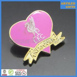 Quality Great Britain Liverpool Football club zinc alloy enamel gold tag wholesale