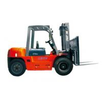 Quality Durable Warehouse Lifting Equipment 5 Ton Diesel Forklift With Side Sliding Fork wholesale
