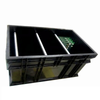 Quality PP Plastic 1.5KG 10e9 Ohms Antistatic Circulation ESD Tray wholesale