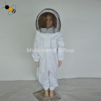 Quality White Hooded Ventilated 150cm Children Bee Protection Suit wholesale