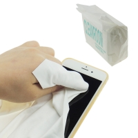 Quality Anti Static Esd Microfiber Cleanroom Wiper 140gsm Polyester wholesale