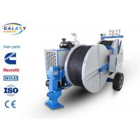 Quality 7500kg Transmission Line Equipment Max Continuous Tension 2X70KN Hydraulic Laying Tensioner wholesale