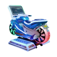 """Quality 1 Player Kids Arcade Machine / Motorcycle Racing Simulator With 19"""" Screen wholesale"""
