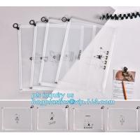 Quality durable clear PVC Slider zipper stand up bag, 100% oxo boidegradable clear pvc slider zip bags, Frosted plastic bag with wholesale