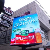 Buy cheap IP65 Waterproof outdoor P10 Led Billboard Display rental / Full Color electronic from wholesalers