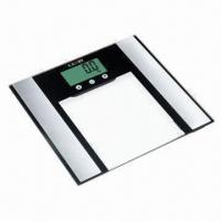 Quality Body Fat and Hydration Monitor Scale, Measure Body Fat %/Water % by Bia Principle wholesale