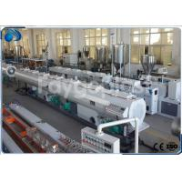 Quality 75~250mm HDPE Pipe Extruder Machine Production Line For Water Supply Pipe / Gas Pipe wholesale