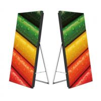 Quality Full Color Indoor HD Screen , Small Pitch Floor Standing LED Poster Display wholesale