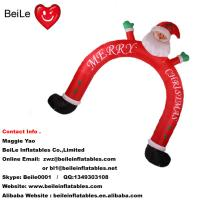 Quality Hot commercial beautiful outdoor christmas man arch for decoration wholesale