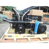 Quality High Pressure Piston Air Compressor Booster Compressor With Big Air Flow wholesale