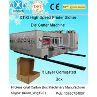 Quality Stable Performance Printing Slotting Die-Cutting Carton Packaging Machinery wholesale