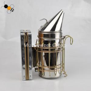 Quality 10cm Barrel Diameter Leatheroid SS Bee Hive Smoker wholesale